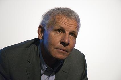 Patrick Poivre-D'Arvor à l'institut Bernard Magrèz à Bordeaux